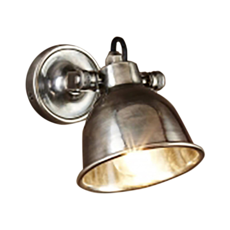 SMITH&SMITH Florence Antique Silver Sconce. If you like Emac & Lawton Phoenix Wall Lamp Silver, buy this!