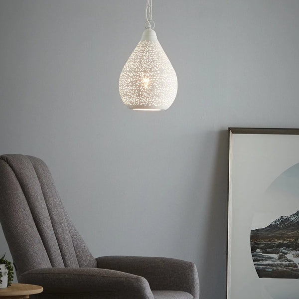 SMITH&SMITH Kova Perforated Teardrop Pendant Light_Zaffero Aquarius Perforated Teardrop Pendant Light Insta