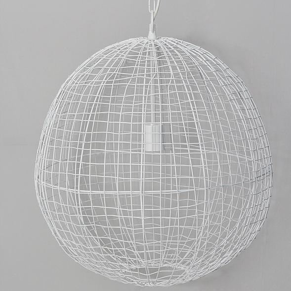 Beressa Medium Round Wire Pendant Lamp