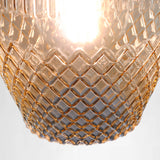 SMITH&SMITH Zarz Amber Glass Pendant Lamp