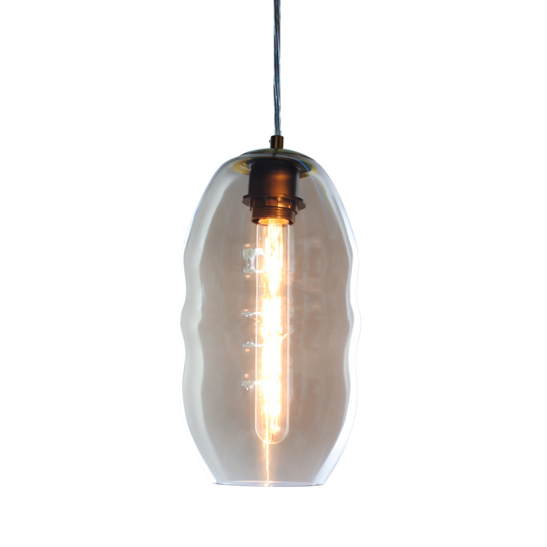 Pepe Pendant in glass is Exclusive to SMITH&SMITH Lighting Australasia