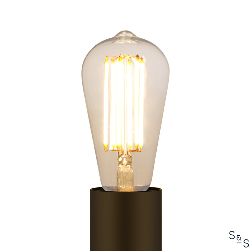 SMITH&SMITH Vintage LED Bulbs Are Better. SMITH&SMITH ST64 Teardrop Vintage LED Bulb lasts 20000 hours. Edison Light Globes. Liquid LEDs Vintage Bulbs.
