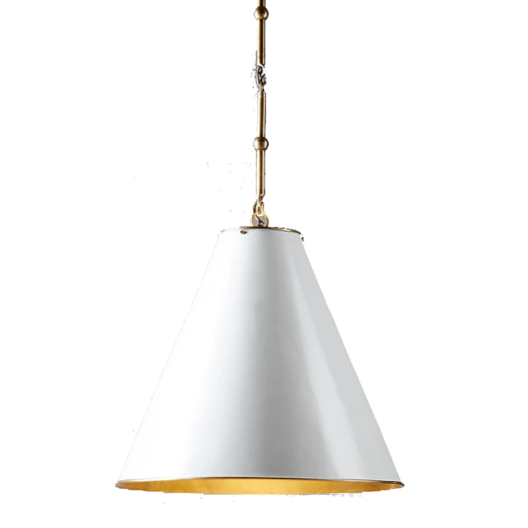 The East Hamptons pendant. Emac & Lawton Monte Carlo Hanging Lamp.