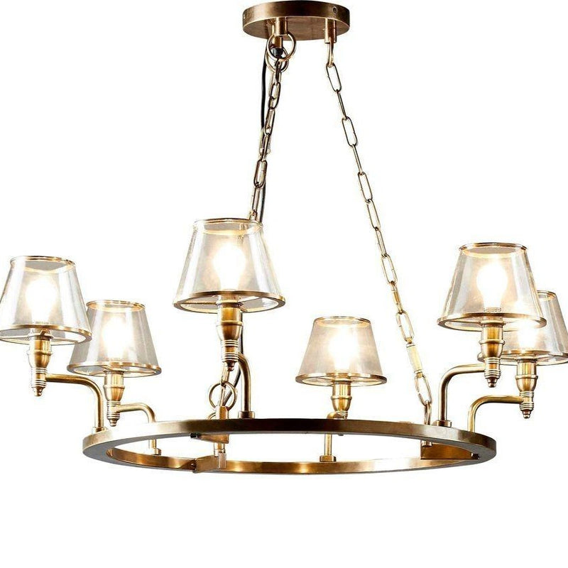 SMITH&SMITH Pisha 6 lamp chandlier is made to order