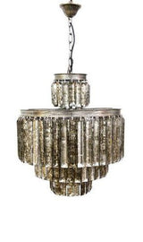Oregan Silver Chandelier not Illuminated