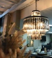 Oregan Chandelier in Silver