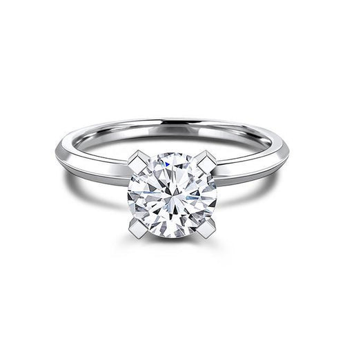 Zaven Solitaire Ring with Round Diamond