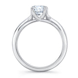 Zaven Double Prong Solitaire Ring with Round Diamond