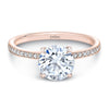 Zaven Pavé Ring with 1.5CT Round Diamond