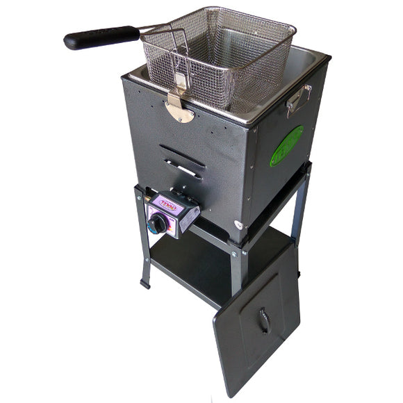 Tenno Penggorengan/Deep Fryer Gas + Rangka FRY-120T-TR