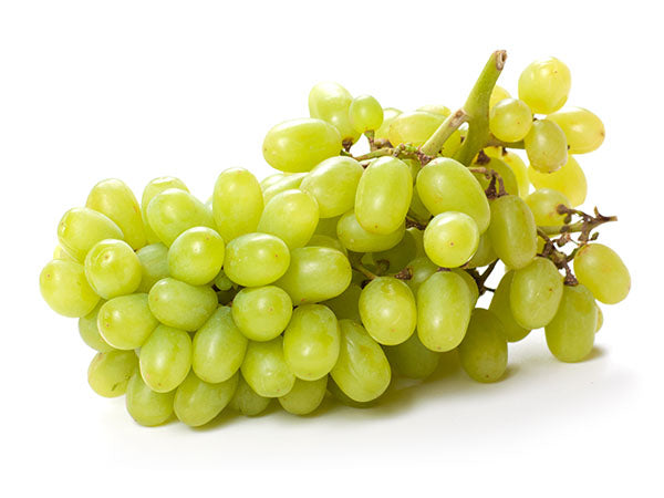 White seedless grapes