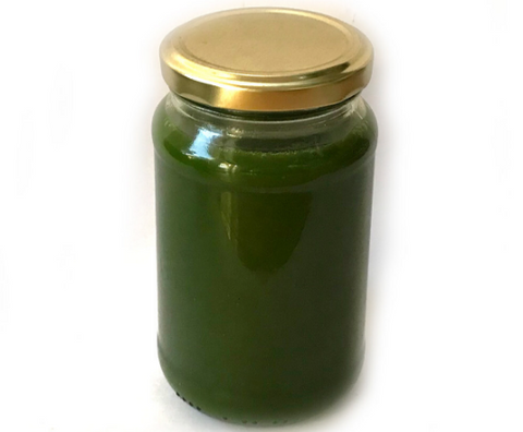 Cold Pressed Raw Green Juice Jar (330ml)