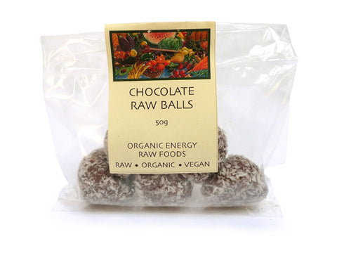 Chocolate Raw Balls (50g)