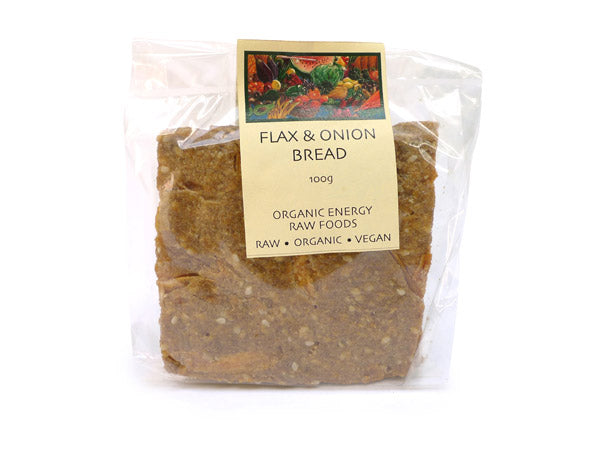 Crackers - Flax and Onion Bread (100g)
