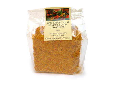 Crackers - Capsicum and Sweetcorn (100g)