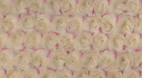 Luxe Frosted Rosette