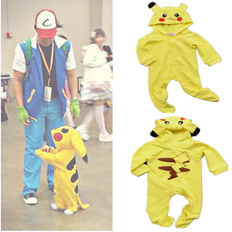 3fb812e9d6d4 Baby Pokemon Pikachu Onesie - Cuddle Cute Onesies