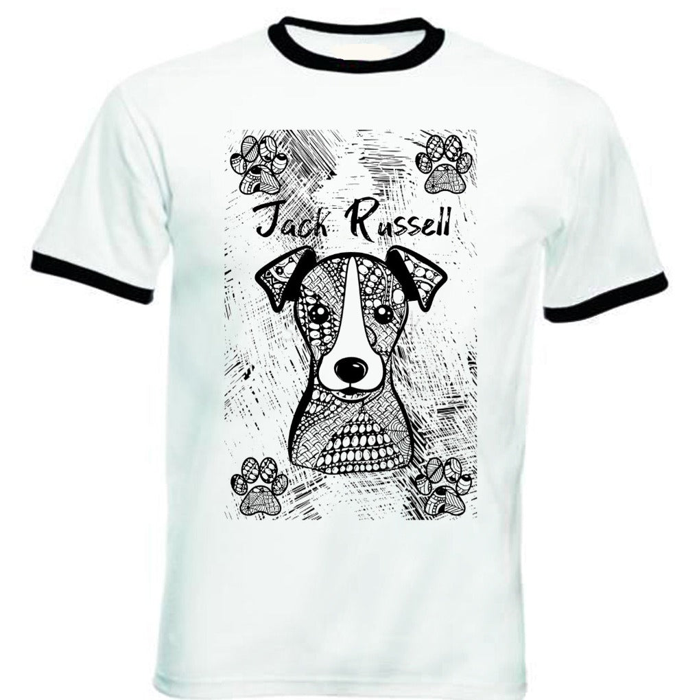 Jack Russell Love Tee Shirt - Puppy's Planet