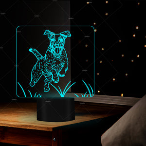 Jack Russell Terrier LED Table Lamp - Puppy's Planet