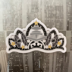 Galactic Empress  Clear Vinyl Sticker