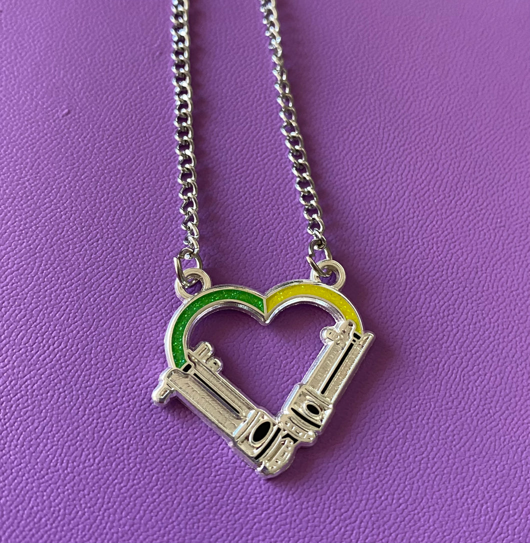 Snips love necklace
