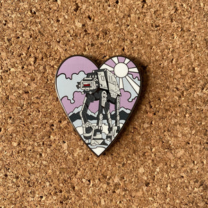 LV-AT Hard enamel pin