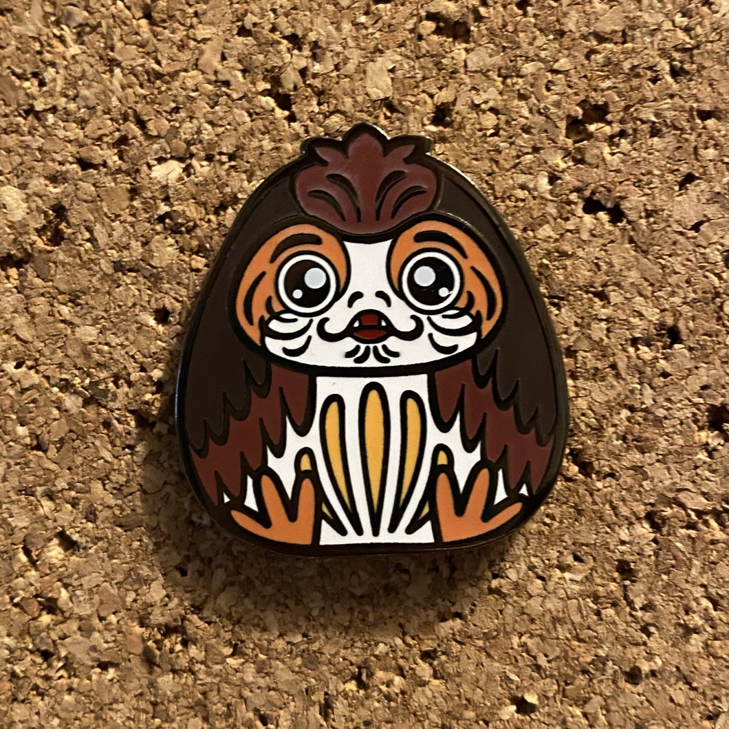 Lucky Space Puffin - Hard enamel pin