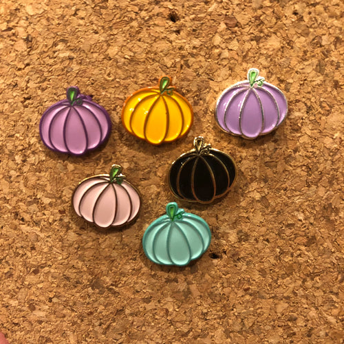 Mini Pumpkins - Soft Enamel Pins