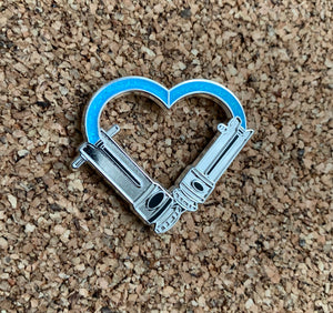 Snips Love- Hard enamel pin