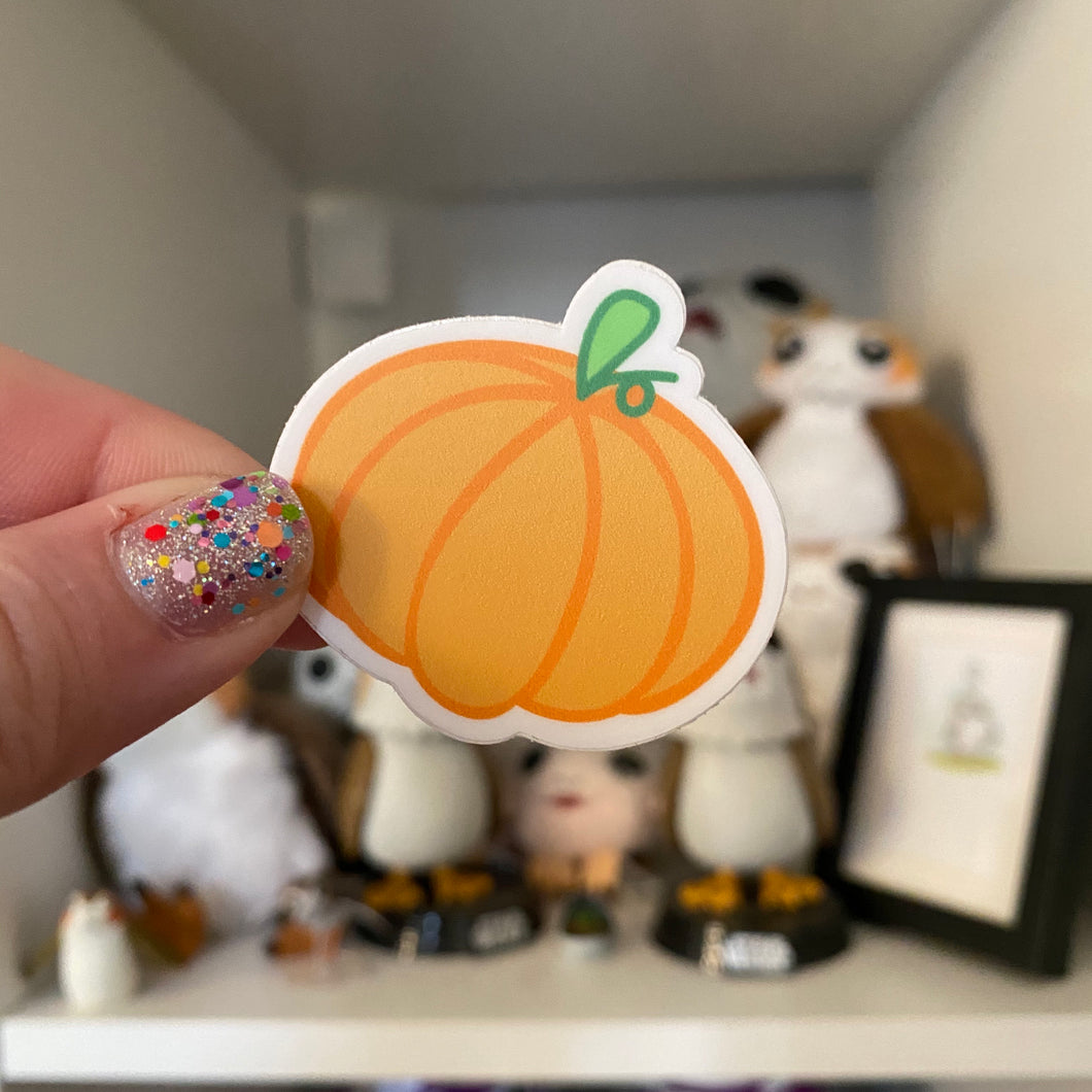 Pumpkin Vinyl Sticker