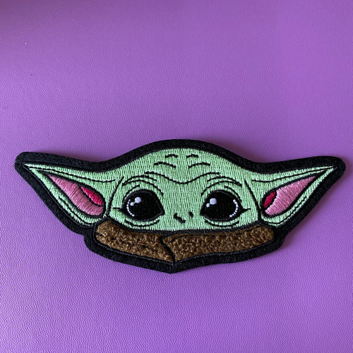 Tiny Tot chenille  iron on patch
