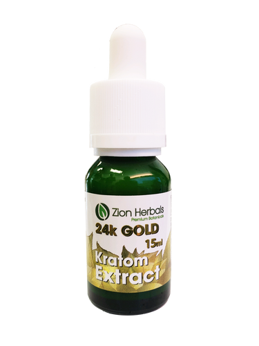24k GOLD Bali Kratom Liquid Extract 15ML