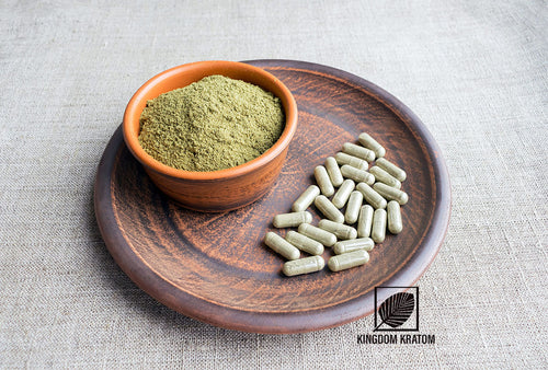 Super Red Borneo Kratom Capsules