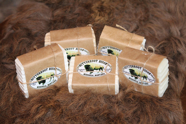 All Natural Bison Tallow Soap