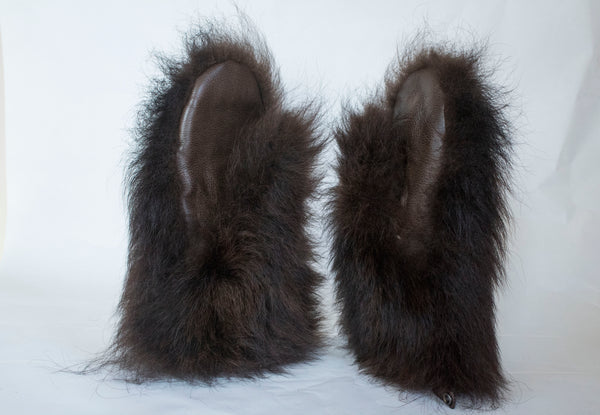 Bison Hide Mittens