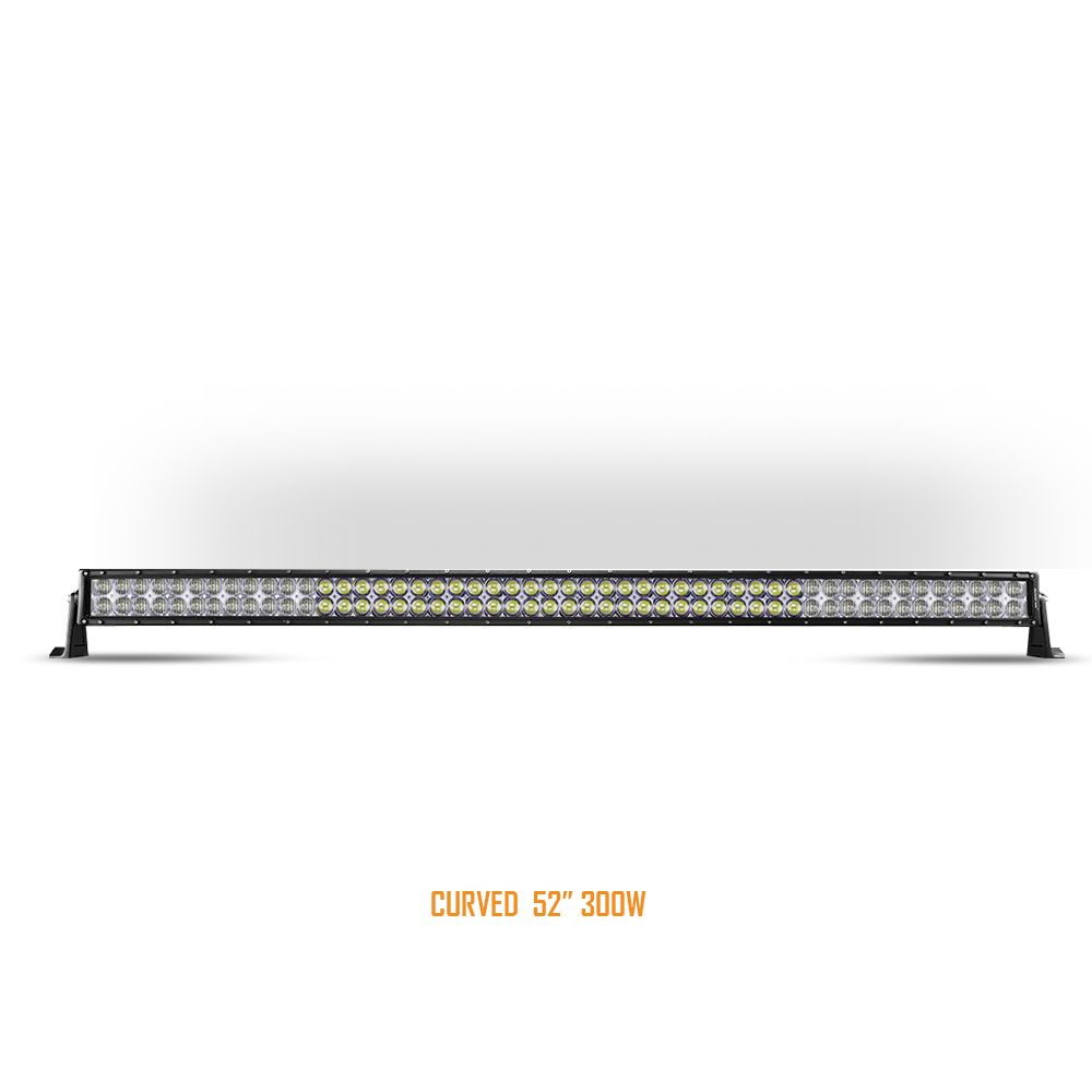 Auxbeam 52 inch RGB Color Changing 300W LED Light Bar