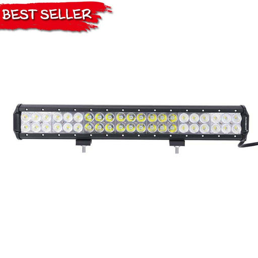 "Auxbeam 20"" 126W Flood & Spot Beam Cree Off Road LED Bar"