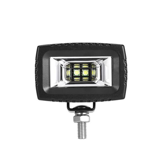 "Auxbeam 3"" 20W Rectangle Off Road LED Light w/ Mounting Bracket"