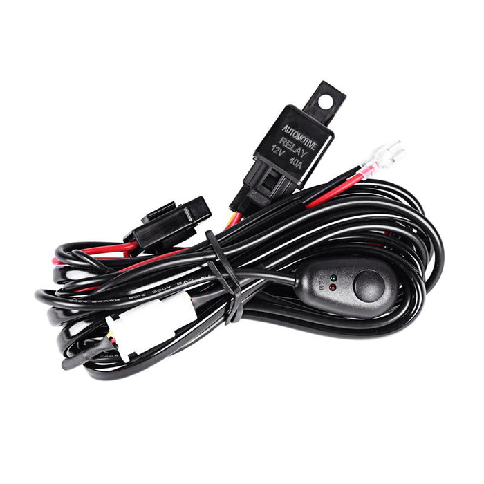 Auxbeam Universal Wire Harness Kit for Pair of LED Lights