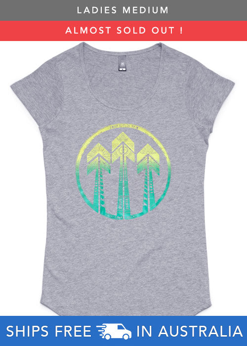 [t-shirt] Tropic Arrow on Grey