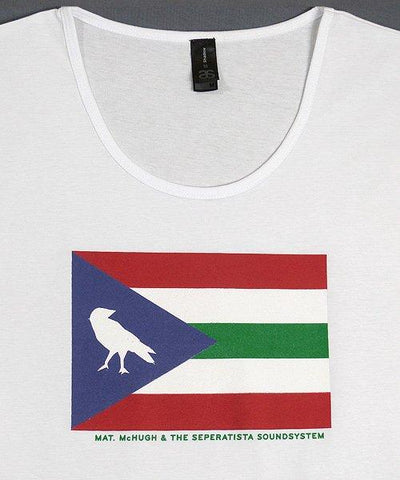 T-shirts - [t-shirt]   Flag On White