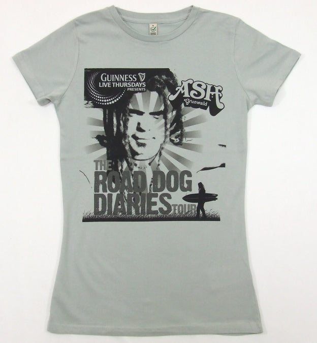 T-shirts - [t-shirt] Grey Road Dog Diaries Ladies Tee