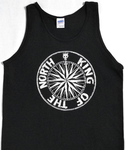 T-shirts - [t-shirt] King Of The North Tank Top - Black