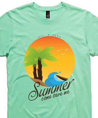 T-shirts - [t-shirt]  Summer On Mint