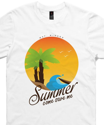 T-shirts - [t-shirt]  Summer On White