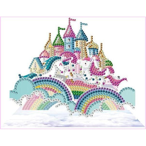 Image of Princess Castle-3D Diorama-Heartful Diamonds