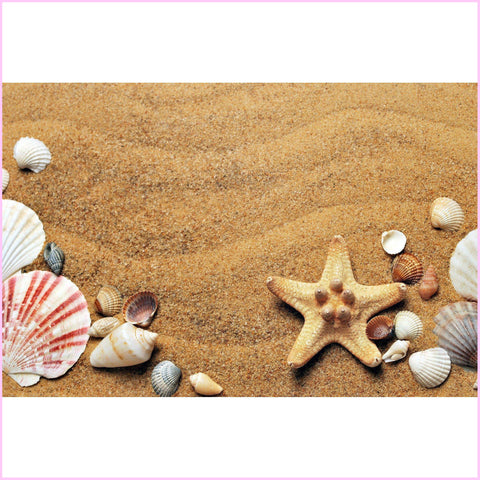 Image of Beach Party Diamond Painting Kit-Square-Heartful Diamonds