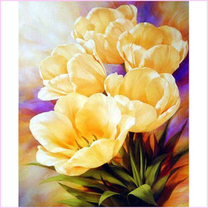 Golden Buttercup-Diamond Painting Kit-30x40cm (12x16 in)-Square-Heartful Diamonds
