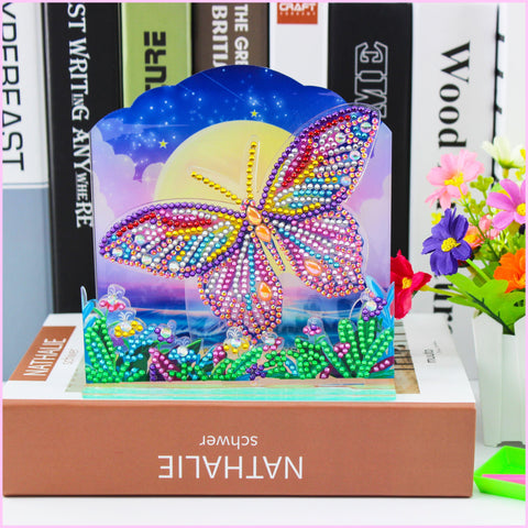 Spring Butterfly-3D Diorama-Heartful Diamonds
