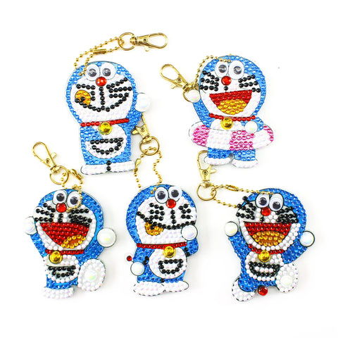 Doreamon - Diamond Key Chains